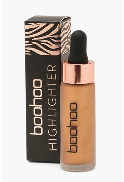 Womens Boohoo Liquid Highlighter - Bronze