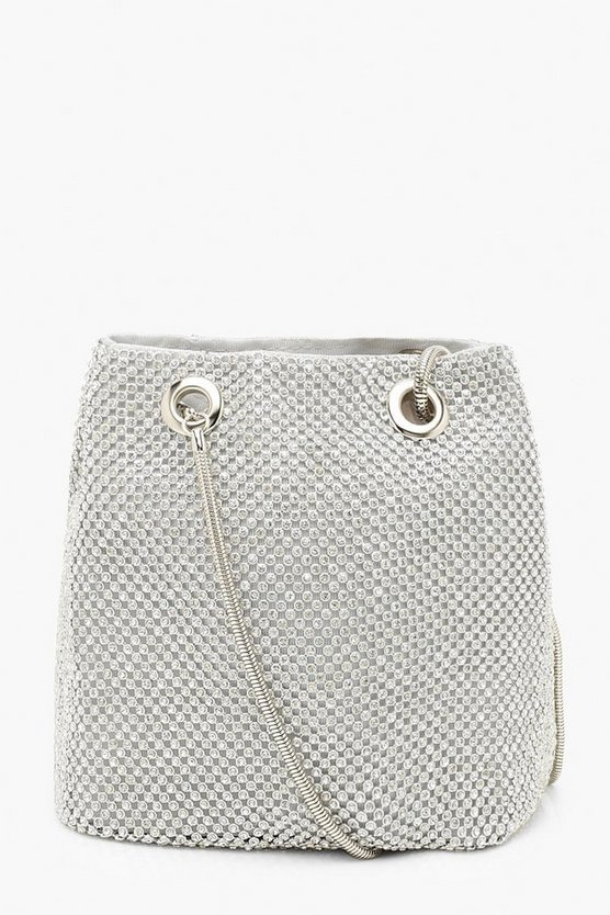 All Over Diamante Bag