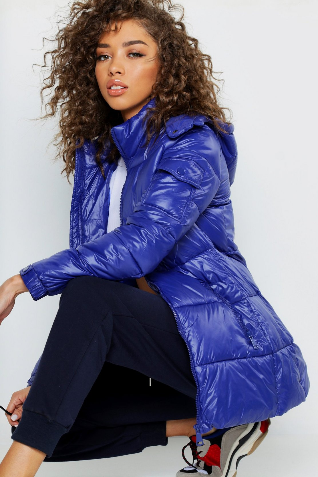 Cire Hooded Padded Jacket by Boohoo