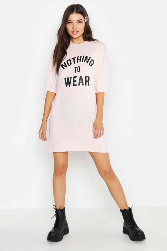 Nothing To Wear T-Shirt Dress