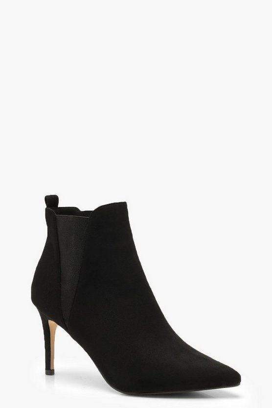 Pointed Stiletto Shoe Boots