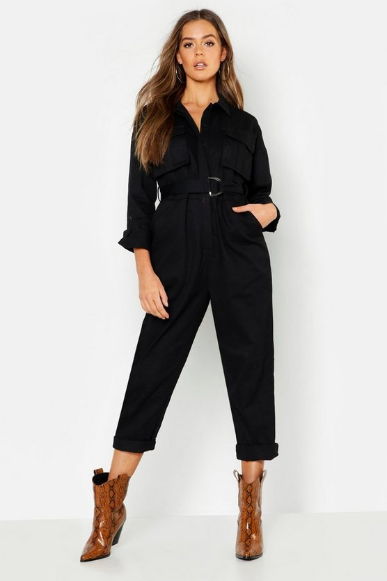 Heavy Twill Utility Jumpsuit