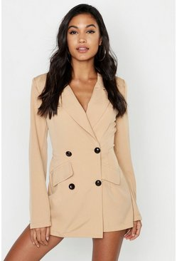 Sand Safari Blazer Skort Playsuit