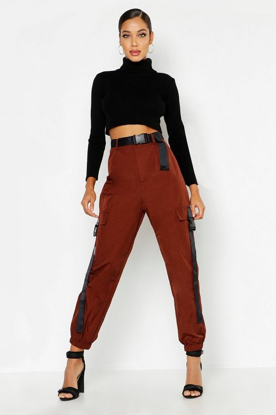 Shell Cargo safety Buckle Trousers