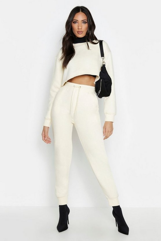 Ecru Basic Sweat Jogger