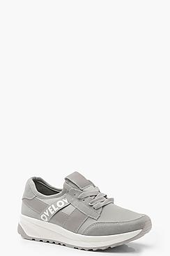 Tape Detail Sports Sneakers