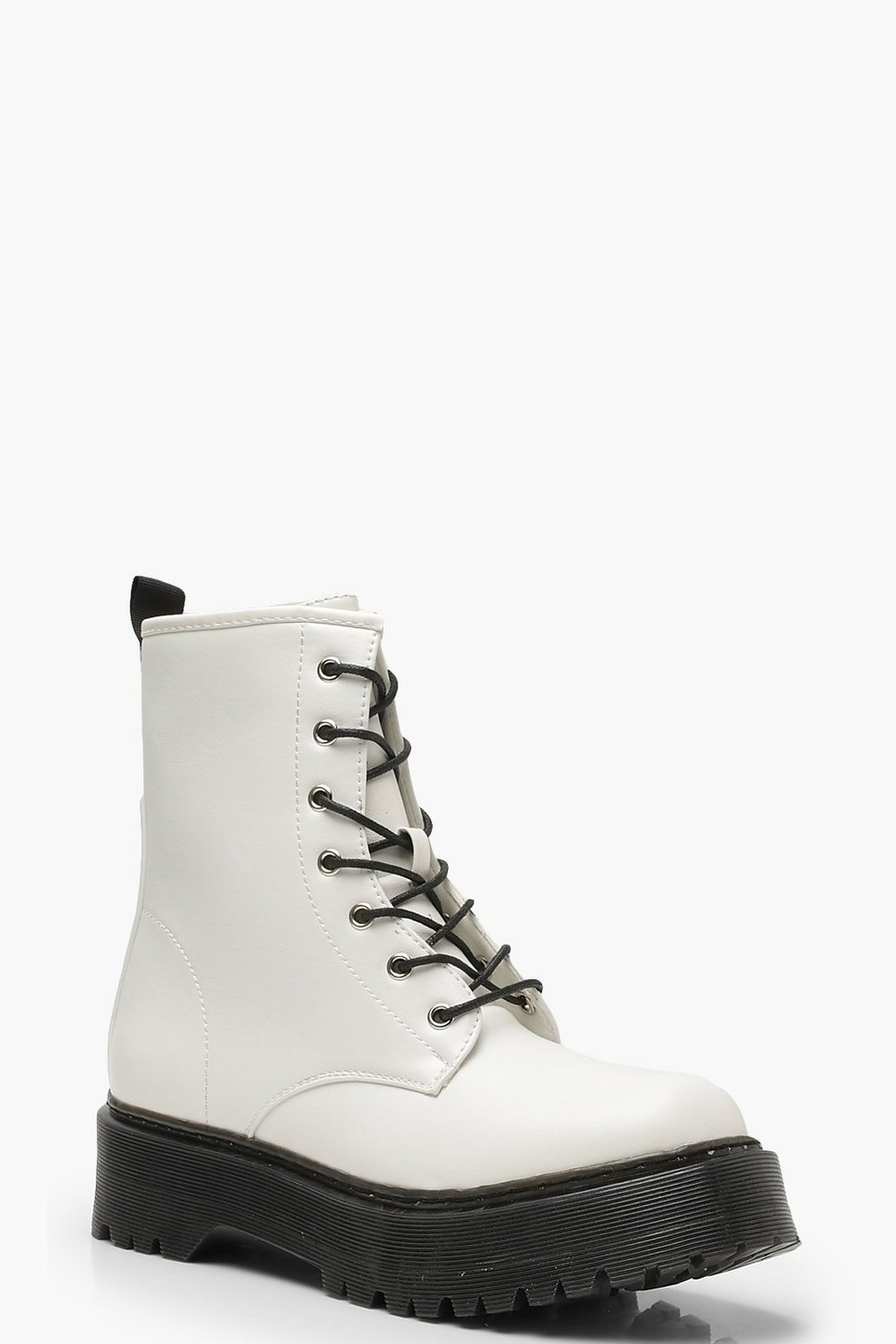 59d556211a Chunky Lace Up Hiker Boots | Boohoo