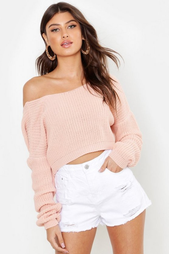 Pull Court Dos En V by Boohoo