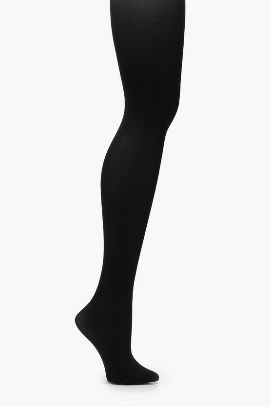 Womens Black 40 Denier Microfibre Tights