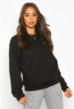 Black Oversize Sweat