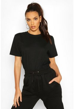 Womens Black Oversize T-Shirt