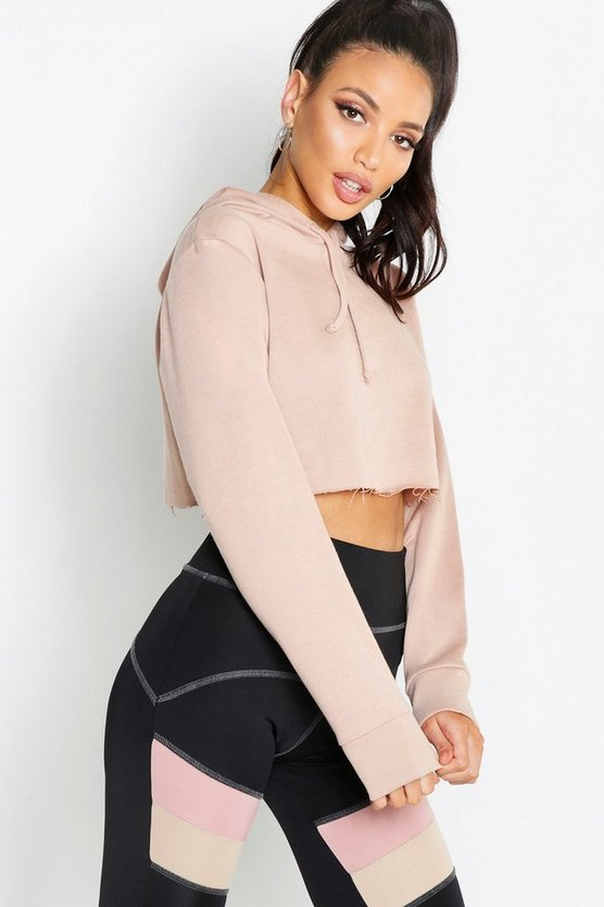Fit Crop Hoody