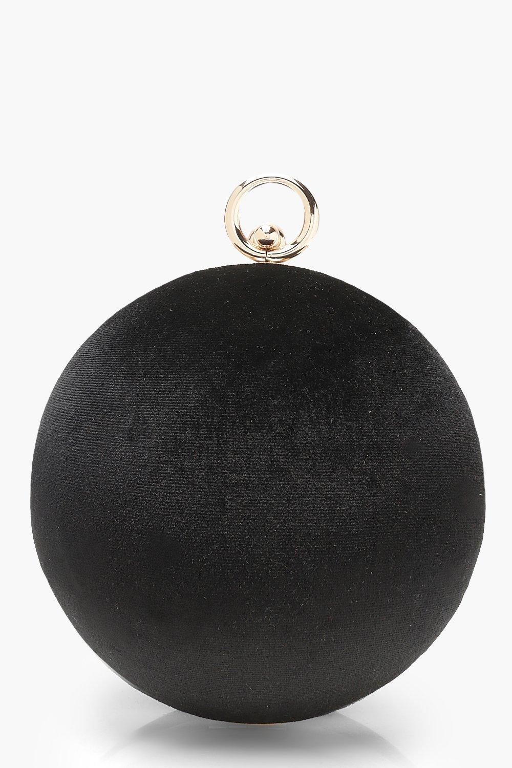 Velvet Sphere Clutch