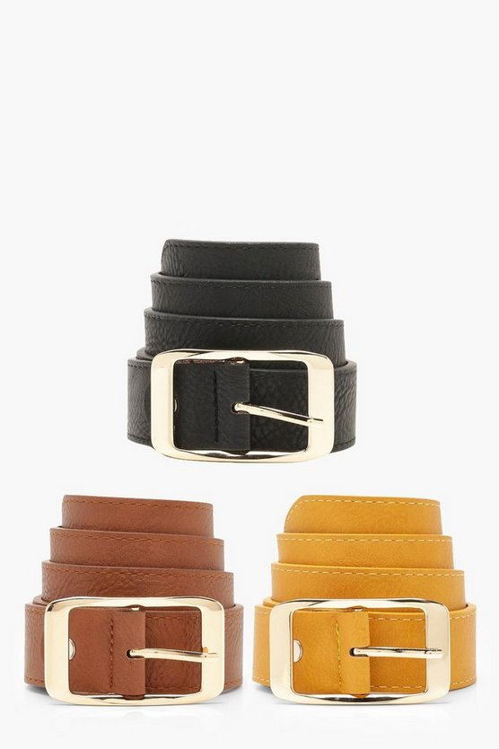 3 Pack Boyfriend Belt