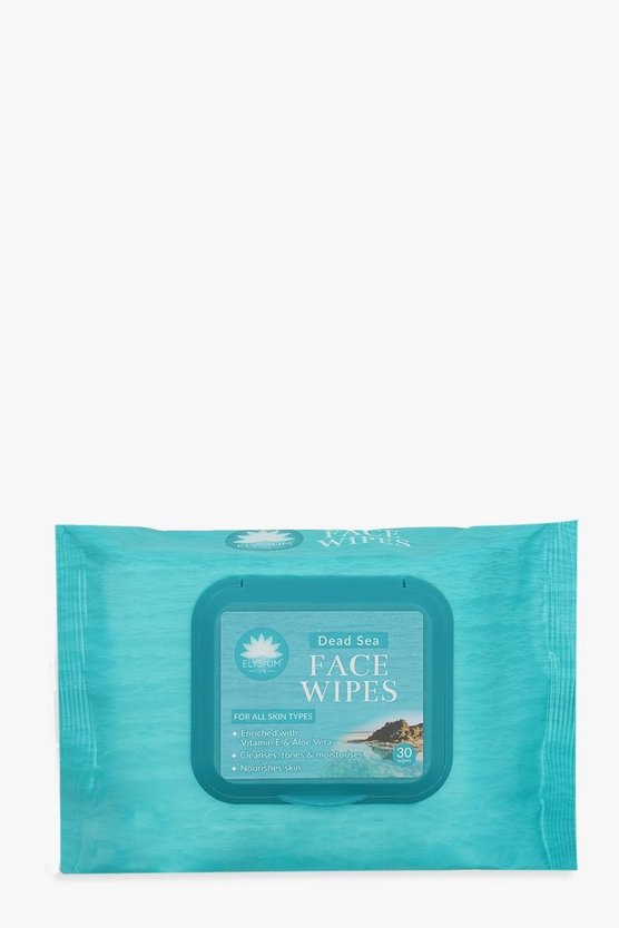 Womens White Elysium Spa Dead Sea Wipes