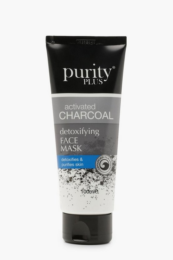 Black Purity Plus Charcoal Face Mask