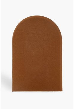 Womens Brown Glow Tanning Mitt