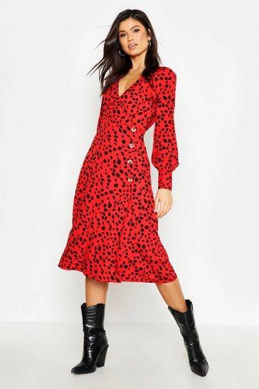b4b29ca2c5a4a Animal Print Dresses | boohoo UK
