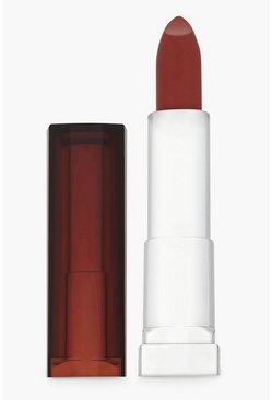 Womens Red Maybelline Sensational Satin 630 Velvet  Beige Lipstick
