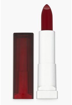 Womens Maybelline Sensational Satin S47 Pleasure Red Lipstick