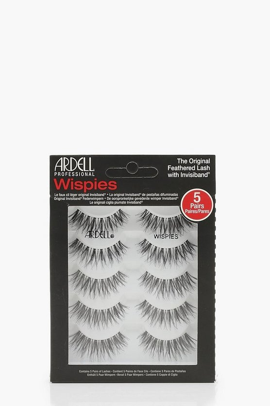 Ardell Demi Multipack Wispies x 5, Black, Женские
