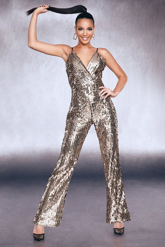 Premium Sequin Jumpsuit