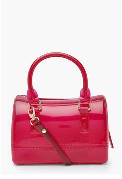 Womens Hot pink Mini Grab Bag