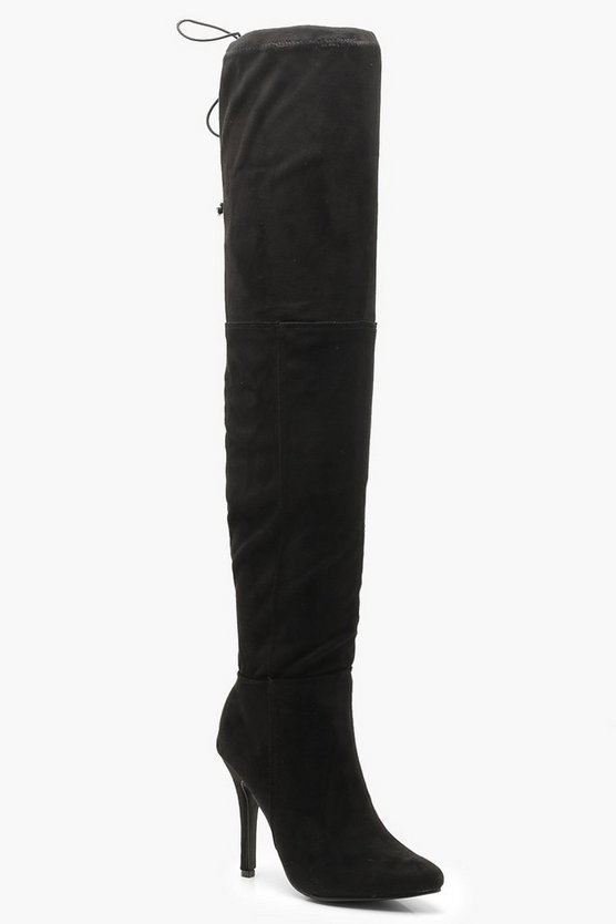 Stiletto Heel Over The Knee Boots