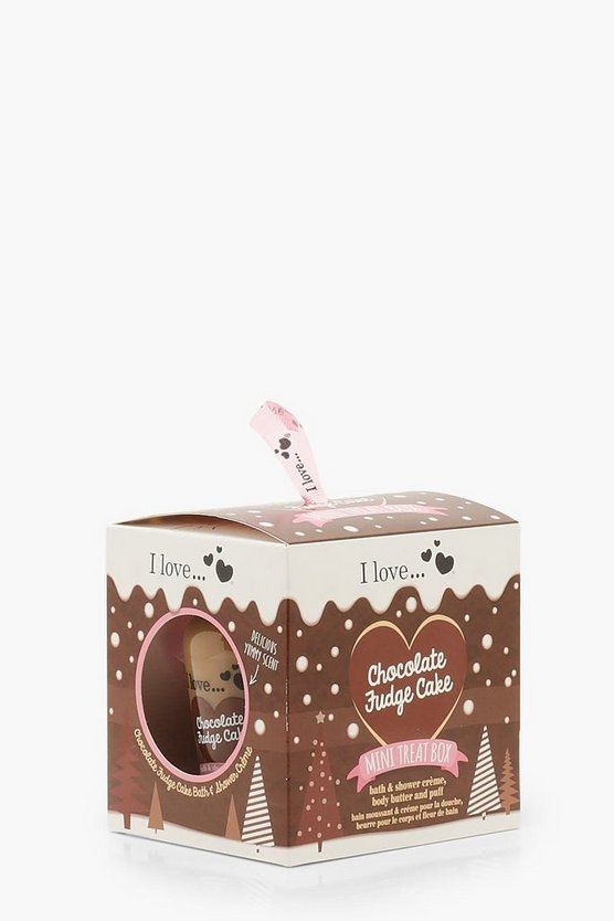 Mini Treat Chocolate Fudge Box