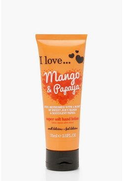 Womens Orange Mango & Papaya Hand Lotion 75ml