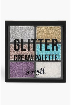 Womens Multi Barry M Glitter Cream Palette