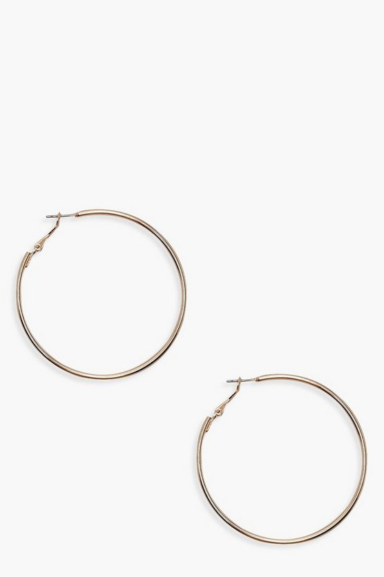 6cm Hoop Earrings
