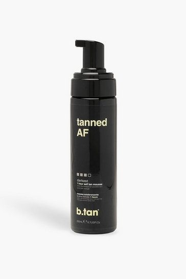 Womens Brown B.Tan Tanned AF Self Tan Mousse