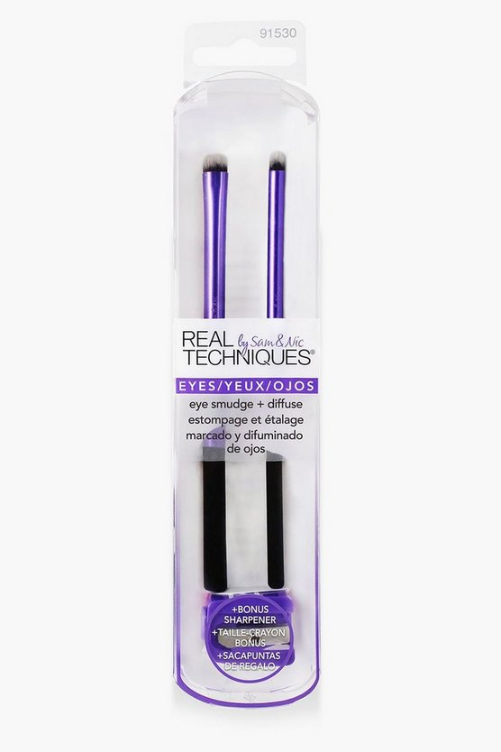 Real Techniques Eye Smudge Brush Set