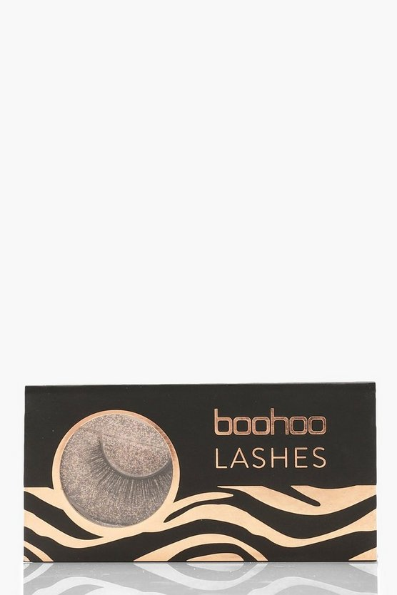 Womens Black Boohoo Lashes - A04