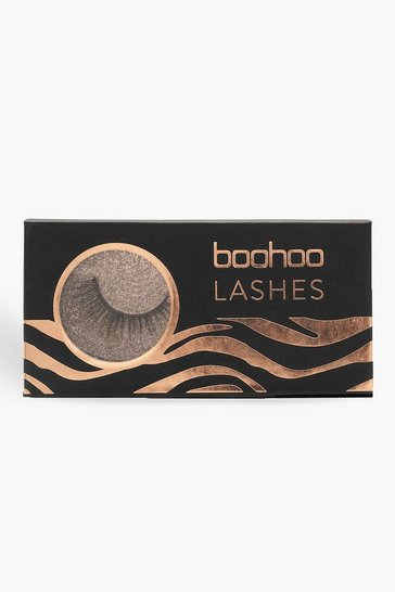 Womens Black Boohoo Lashes  TW-14