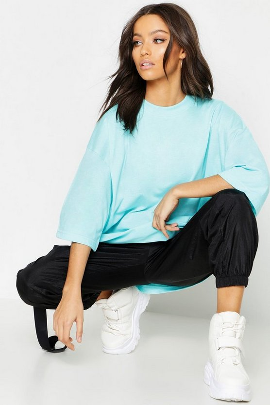 Oversized Cotton T Shirt