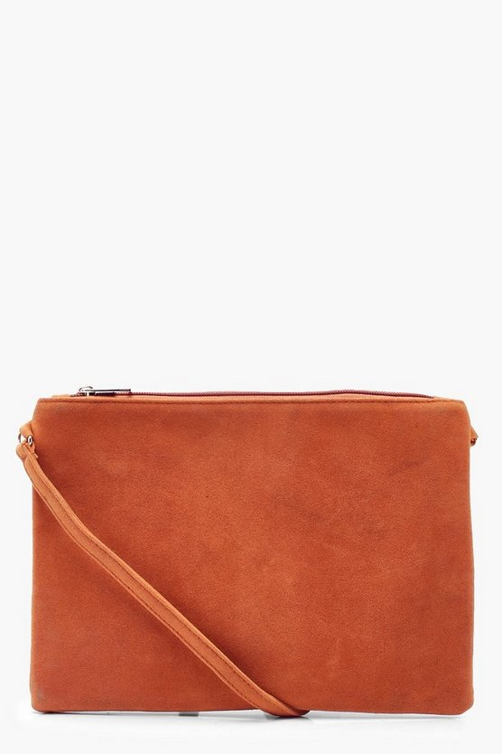 Suedette Cross Body