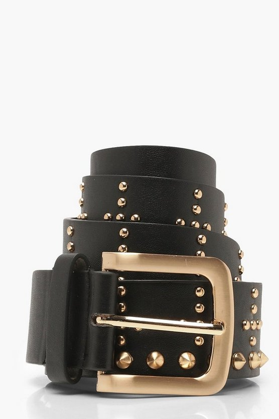 Studded Boyfriend Belt
