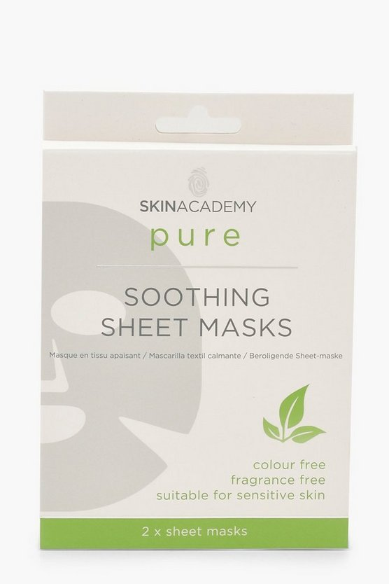 2 Pck Soothing Sheet Masks