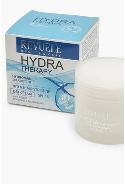 Womens White Revuele Hydra Therapy Day Cream