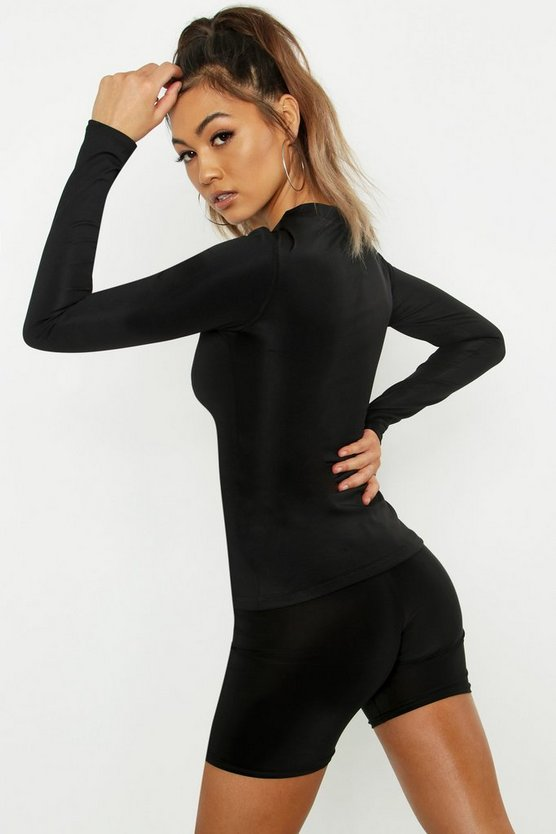 Fit Long Sleeve Gym Top