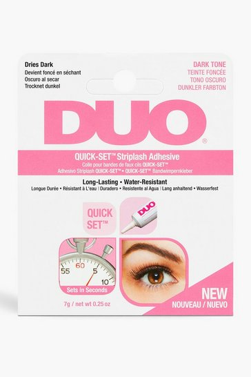 Womens Black Ardell Duo Lash Adhesive Dark 7g