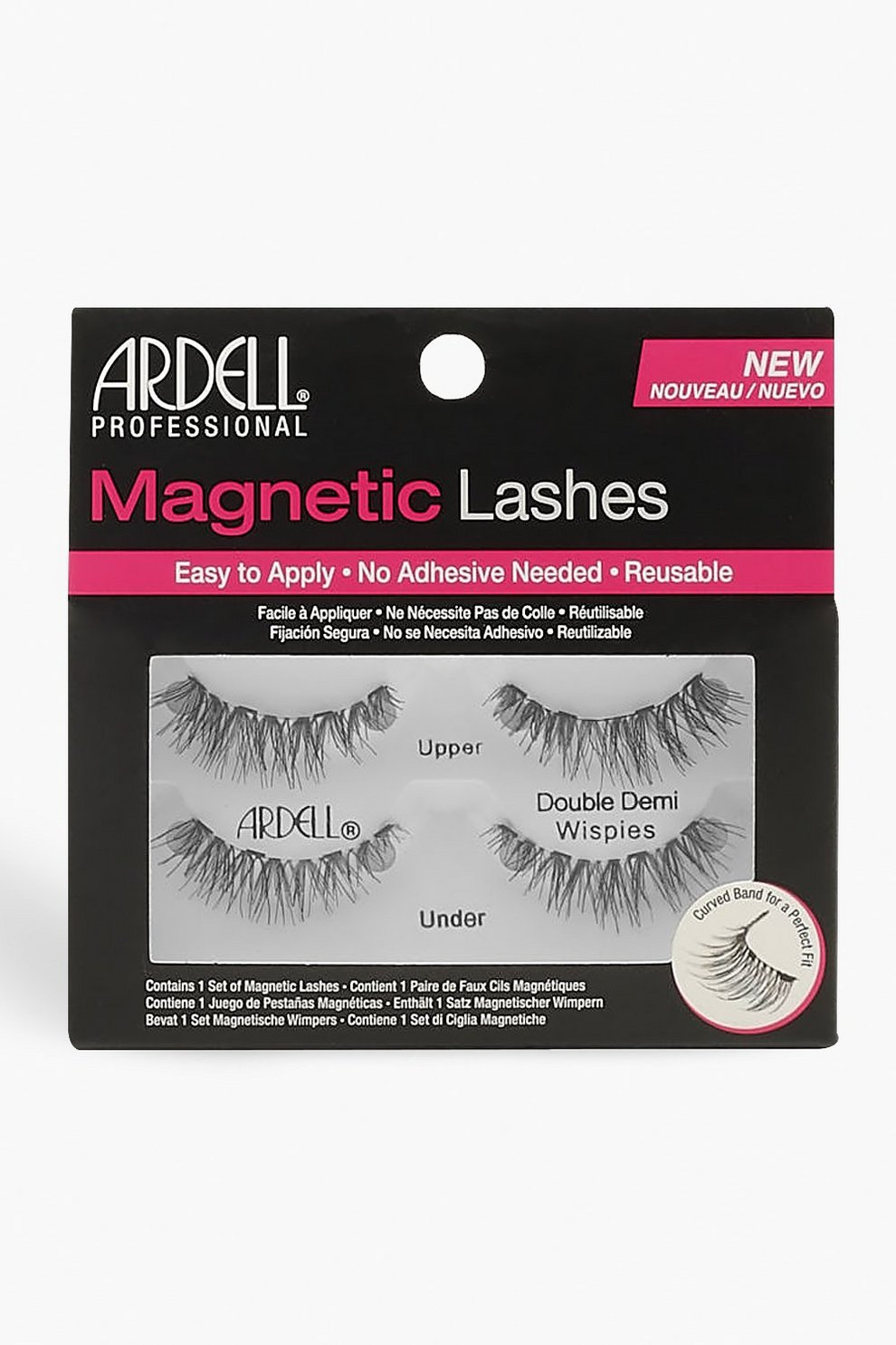 da479ce1824 Ardell Magnetic Lashes Double Demi Wispies | Boohoo