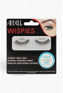 Womens Black Ardell Demi Wispies
