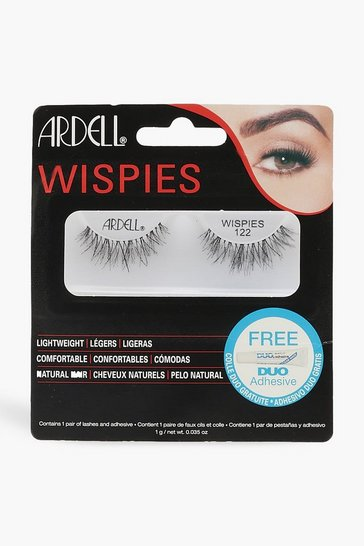 Womens Black Ardell Wispies 122