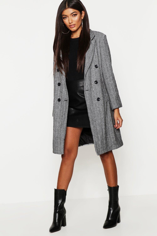 cappotto svasato donna