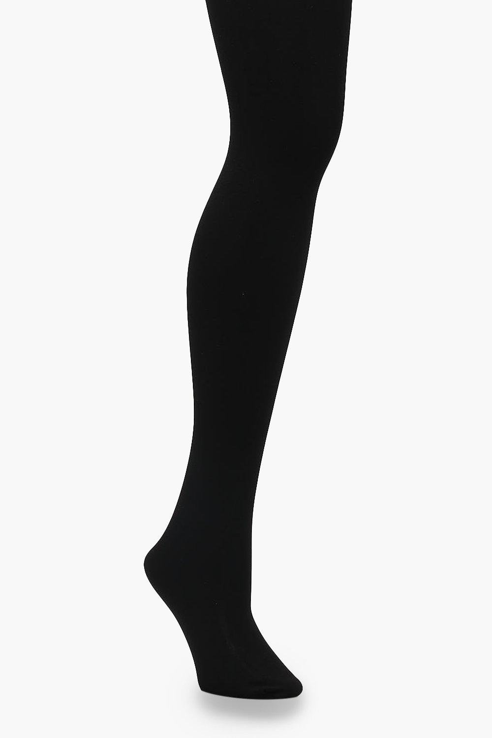 4f84011ca Womens Black 300 Denier Thermal Tights. Hover to zoom