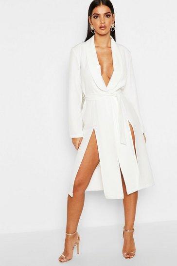Uk Tuxedo Boohoo Style Dress Dresses Blazer XxaUgg