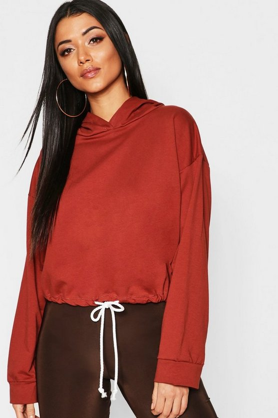 Oversized Drawcord Sweat